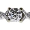 0.8 ct. Round Cut Bridal Set Ring, J, SI1 #4