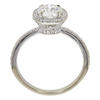 1.07 ct. Round Cut Bridal Set Ring, I, I1 #4