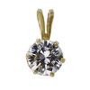 1.20 ct. Round Cut Pendant Necklace, L, VS2 #1