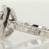 0.89 ct. Emerald Cut Halo Ring #2