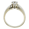 1.00 ct. Round Cut Solitaire Ring, F, VS1 #3
