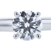0.66 ct. Round Cut Solitaire Ring, I-J, VS1 #1