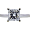 1.72 ct. Princess Cut Bridal Set Ring, I, VVS2 #4