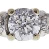 1.19 ct. Old European Cut Bridal Set Ring, E, VS2 #4
