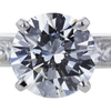 2.56 ct. Round Cut Bridal Set Ring #3