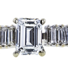 1.01 ct. Emerald Cut Solitaire Ring, E, VS1 #4