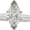 1.02 ct. Marquise Cut Solitaire Ring, G, SI2 #4