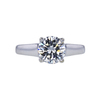 1.53 ct. Round Cut Solitaire Ring, I, SI1 #4