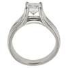 1.08 ct. Princess Cut Bridal Set Ring, H-I, VS2 #3