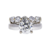 2.18 ct. Round Cut Bridal Set Ring, J, SI1 #2