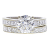 1.64 ct. Round Cut Central Cluster Ring, I, I1 #3