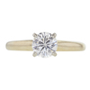 0.9 ct. Round Cut Solitaire Ring, J, VS1 #3