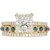 2.52 ct. Princess Cut Bridal Set Ring, I, SI1 #3