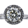 1.20 ct. Round Cut Halo Ring, I, SI2 #4