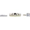 1.07 ct. Round Cut Bridal Set Ring, G, VS2 #3