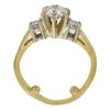 0.78 ct. Round Cut Bridal Set Ring, G, VS2 #4