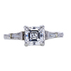 1.26 ct. Square Emerald Cut Solitaire Ring, E-F, VS1-VS2 #2