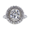 1.35 ct. Round Cut Halo Ring #3