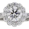 1.01 ct. Round Cut Bridal Set Tacori Ring, I, VVS1 #4