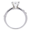 1.25 ct. Pear Cut Solitaire Ring, J, SI1 #4
