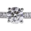 1.09 ct. Round Cut Bridal Set Ring, I-J, SI1 #1