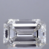 1.55 ct. Emerald Cut Bridal Set Ring, H, VVS2 #1