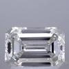1.55 ct. Emerald Cut Bridal Set Ring, H, VVS2 #1