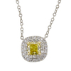 0.28 ct. Cushion Cut Pendant Tiffany & Co. Necklace, Fancy, VS1 #2