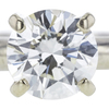1.00 ct. Round Cut Solitaire Ring, J, SI1 #4