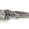 Art Deco GIA 1.51 ct. Round Cut Solitaire Ring #2