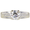 1.0 ct. Round Cut Solitaire Ring, G, SI2 #3