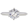 1.4 ct. Round Cut Solitaire Tiffany & Co. Ring, F, VS1 #3