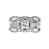 1.01 ct. Princess Cut Bridal Set Ring, J, SI1 #3