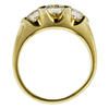 0.75 ct. Round Cut 3 Stone Ring, G-H, VS1-VS2 #2