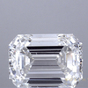 2.01 ct. Emerald Cut Halo Ring, G, VS1 #1