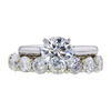 1.50 ct. Round Cut Bridal Set Ring #3