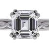 1.51 ct. Emerald Cut Bridal Set Ring, I, VVS2 #4