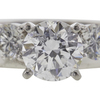 1.09 ct. Round Cut Bridal Set Ring, D, I1 #4