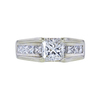 1.00 ct. Princess Cut Solitaire Ring, G, VS2 #2