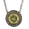 1.13 ct. Round Cut Pendant Necklace #4