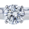 1.01 ct. Round Cut Solitaire Ring, G, SI1 #4