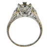 2.62 ct. Circular Brilliant Cut 3 Stone Ring, M-Z, SI2 #4