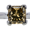 2.53 ct. Princess Cut Solitaire Ring, Fancy, SI1 #4