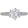 1.23 ct. Round Cut Solitaire Ring, I, VS2 #3