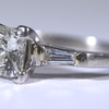 1.23 ct. Princess Cut Bridal Set Ring #3