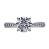 1.21 ct. Round Cut Solitaire Ring, H, VS2 #3