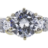 1.14 ct. Round Cut Bridal Set Ring, I, SI2 #4