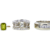 1.01 ct. Princess Cut Bridal Set Ring, M, I2 #3