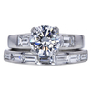 1.23 ct. Round Cut Bridal Set Ring, G, VS1 #3