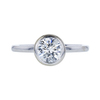 0.96 ct. Round Cut Solitaire Ring, J-K, I1 #2